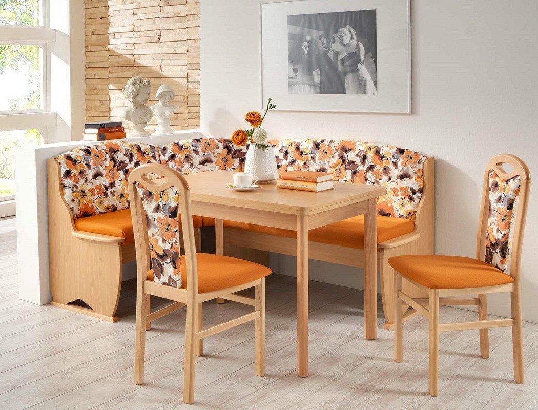 Bancos esquineros de cocina banco de cocina de madera for Banco rinconera comedor
