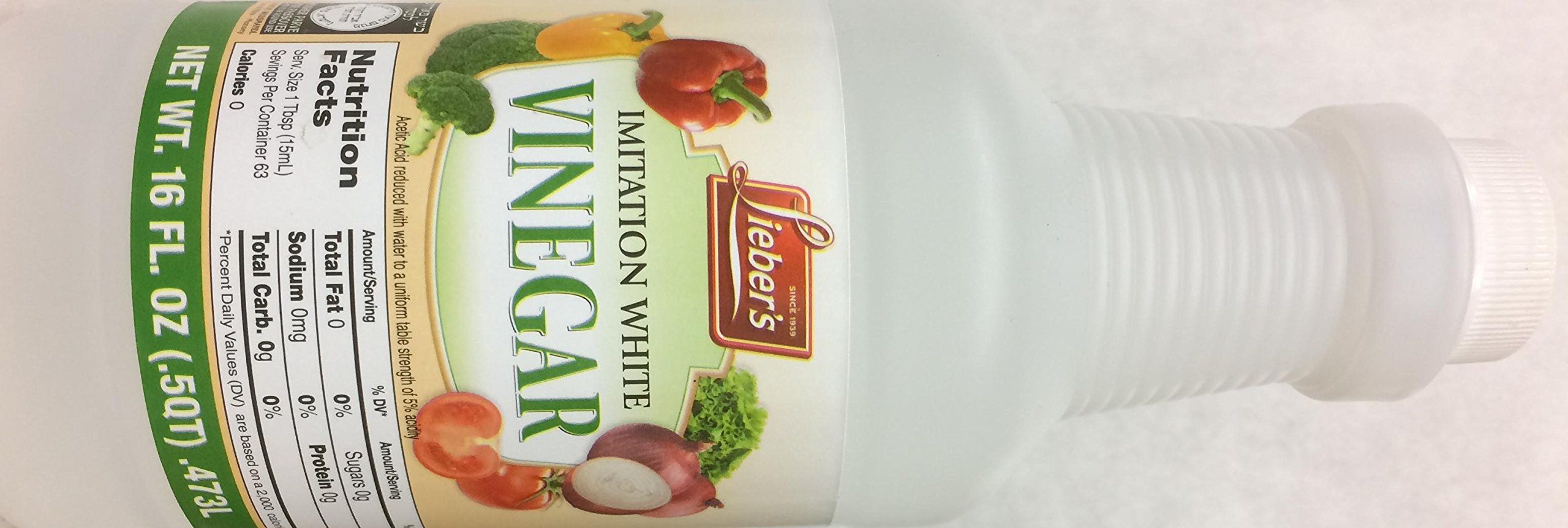 Lieber's Imitation Vinegar 16 Oz. Pack Of 3.