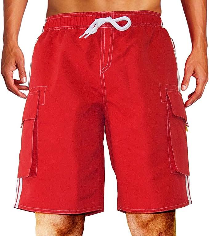 Amazon.com: Dwar - Bañador para hombre, pantalones cortos de ...
