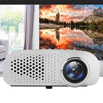 Oyunngs Mini proyector, proyector de películas portátil ...