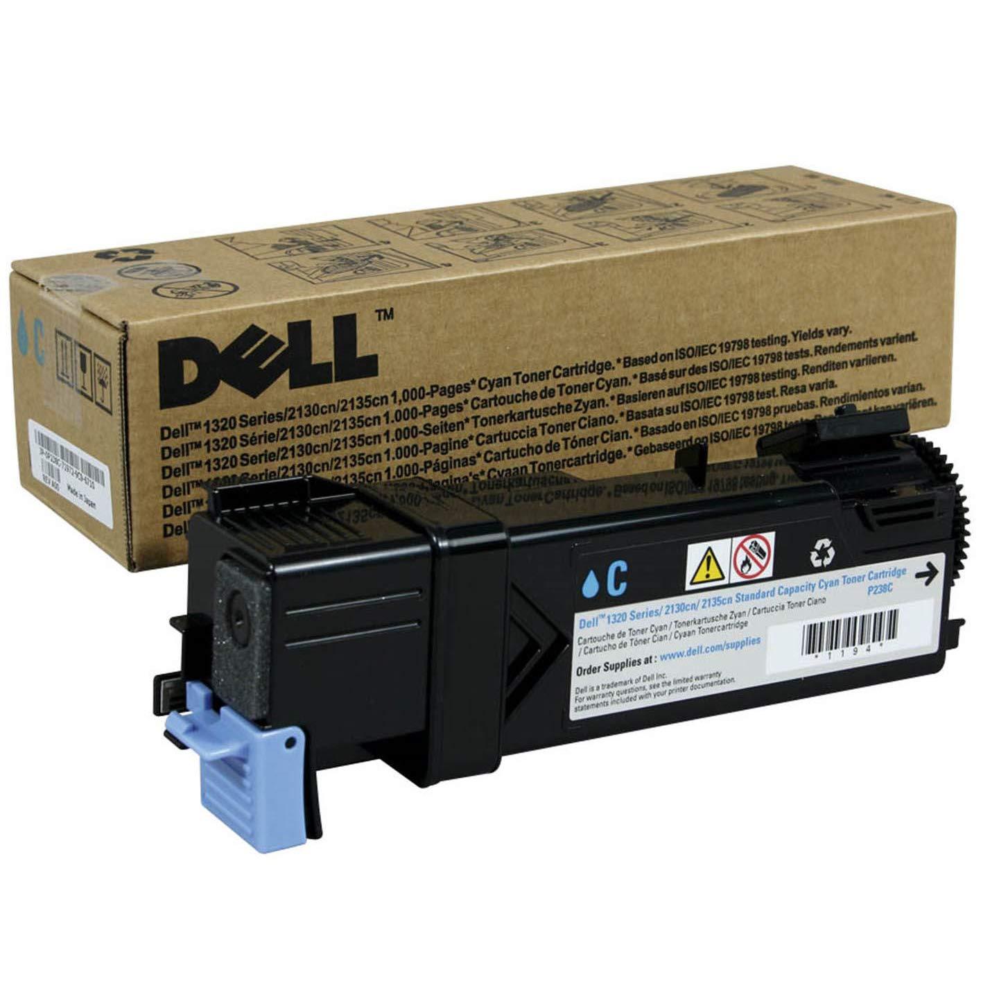 Toner Original DELL P238C 1320C 2130 2135 (Cyan)