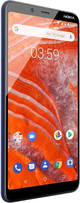 Nokia 3.1 Plus, Smartphone, Versión 2018, MicroUSB, Android, Azul: Amazon.es: Electrónica
