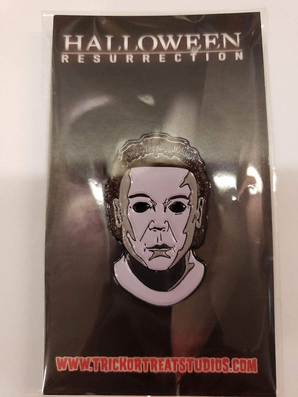 guaranteed Halloween 8 Resurrection Michael Myers Enamel Pin ...
