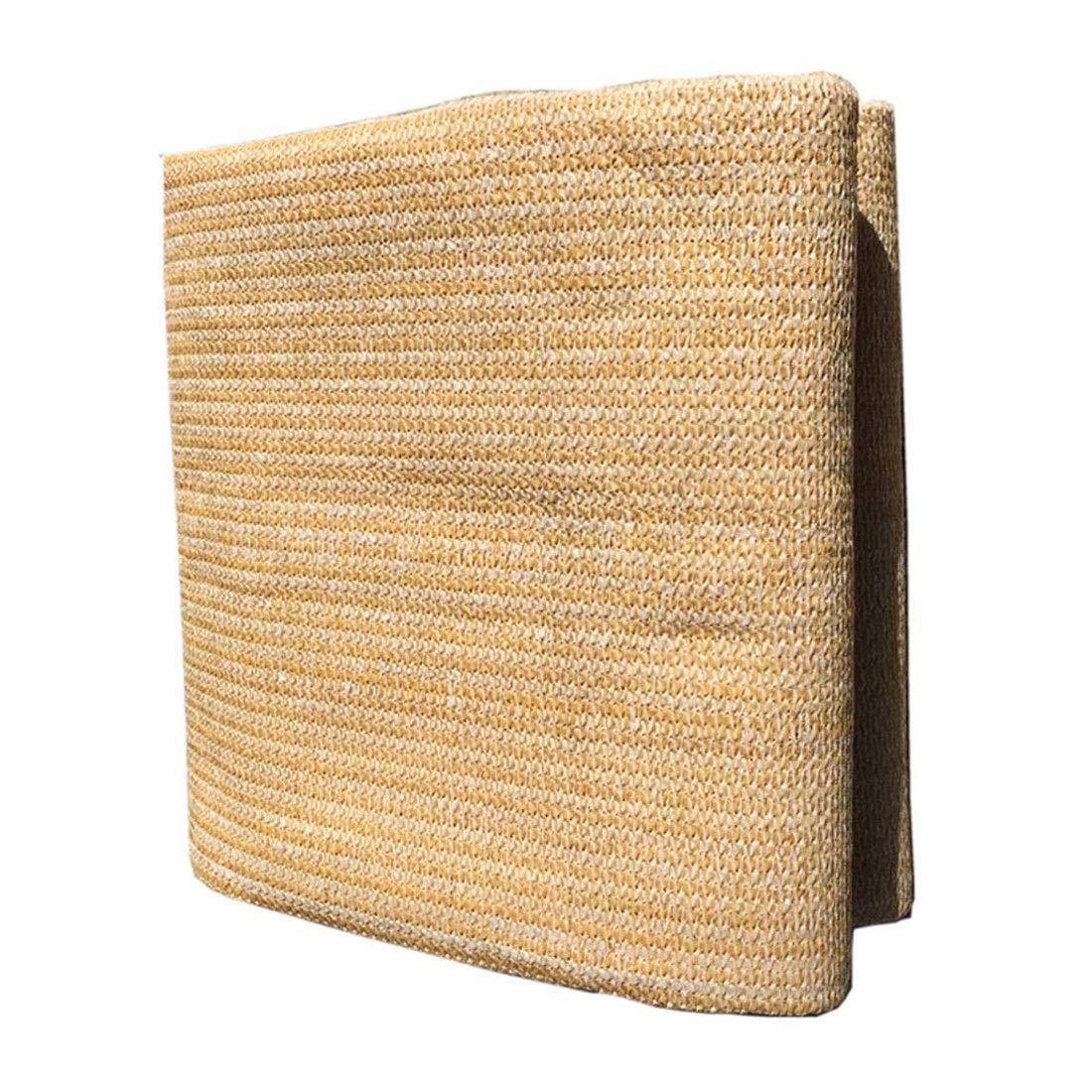 シェードセイル シェード布シェードネット グロメット付き日よけ布70%日焼け止め用温室シェードネット8 X 6m UVブロック日よけ屋外庭用植物園デッキ施設アクティビティ日よけテント、小麦複数サイズ UVプロテクション サイズ任意 (Size : 3.5x4M(11.5x13.1ft)) B07V9YMDB5  3.5x4M(11.5x13.1ft)