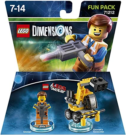 Warner Bros Interactive Spain Lego Dimensions - Figura Emmet: Amazon.es: Videojuegos