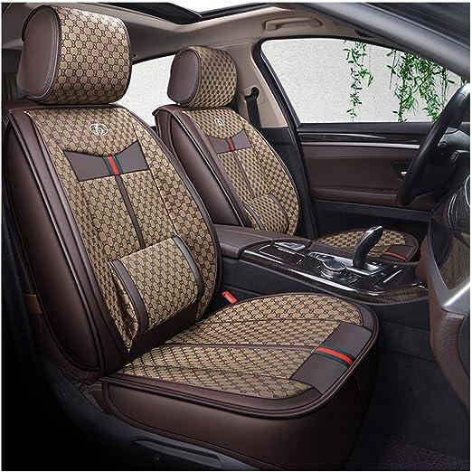 Set Completo Cubiertas de Asiento de Coche Apto Nissan Murano-Conjunto Completo Negro