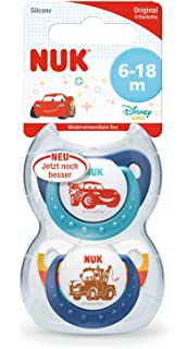 NUK 10176213 Disney Mickey Mouse Trend Line Chupete, silicona, 6 ...