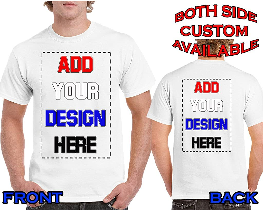 Amazon Custom T Shirts 2 Sided Design Your Own Shirt Front