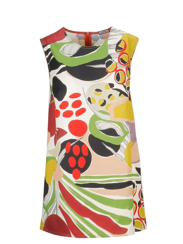 Brand Size 44 MALÌPARMI Women's JP532850125A1166 Multicolor Viscose Tank Top