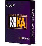 Glop Mimika - Juego de Mímica - Juegos de Mesa - Juegos de Mesa Adulto para Fiestas con Amigos - Juegos de Mesa…