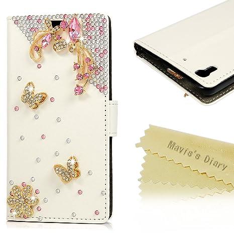 Mavis S Diary Huawei Y6 Bianco Sfondo Decorazione Con