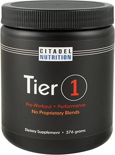 Tier 1 Preworkout Performance Supplement 376g