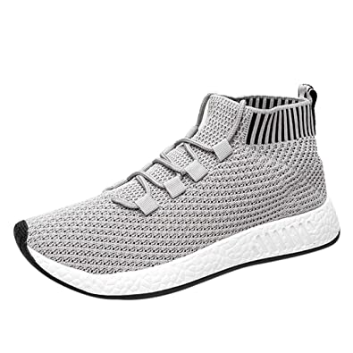 großer Lagerverkauf Super Specials Outlet-Boutique FNKDOR Herren Hohe Sneaker Weich Sohle Schuhe Laufschuhe Turnschuhe