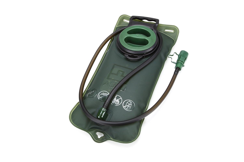 Sunris 2L TPU bolsa de agua bicicleta boca deportes vejiga Hidratació n Camping senderismo escalada militar verde, azul