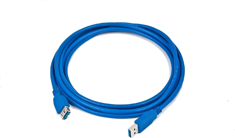 Gembird CCP-USB3-AMAF-6 - Cable alargador USB 3.0, 1.8m, 600Mbit/s ...