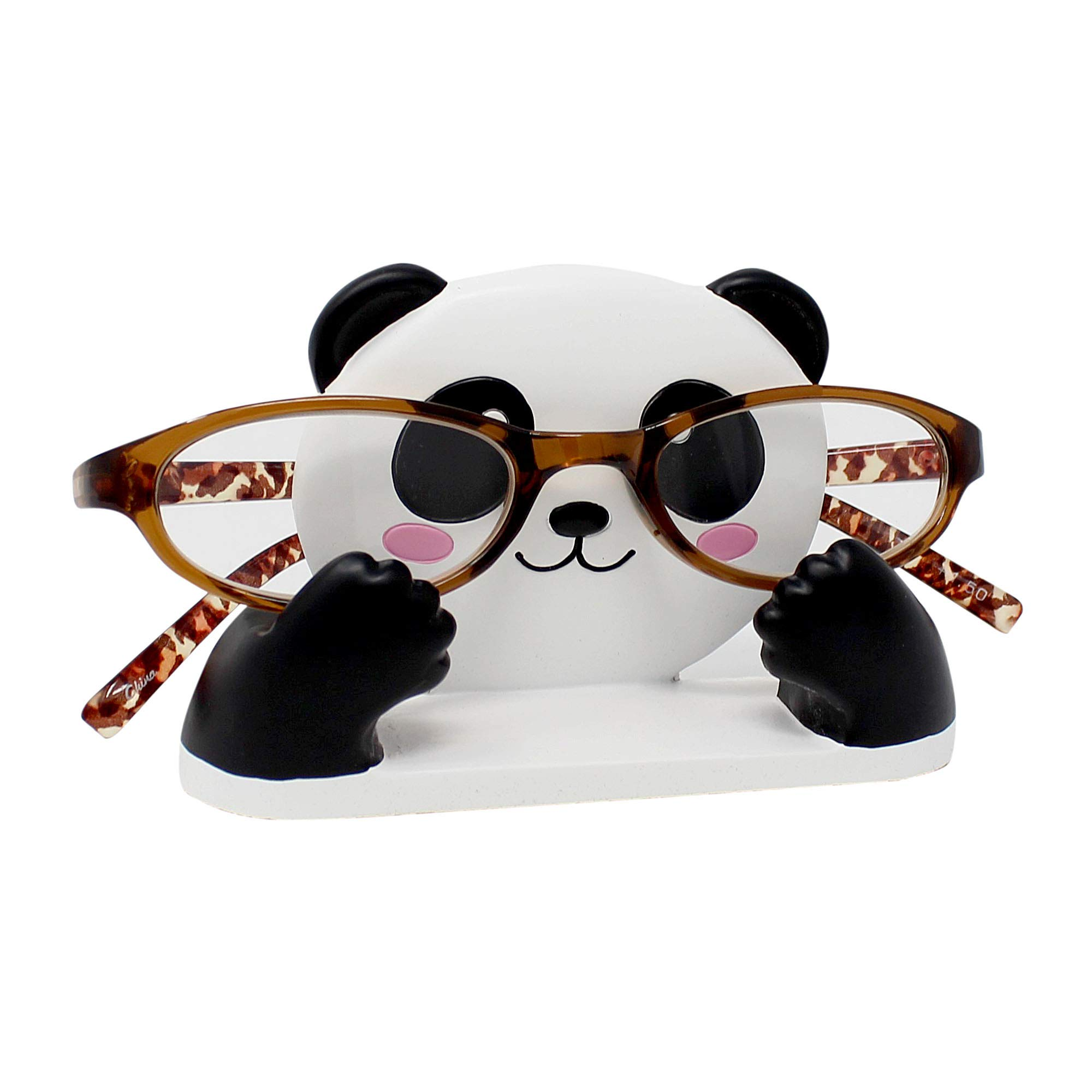 JewelryNanny Eyeglass Display Stand (Panda 4.5'' L)