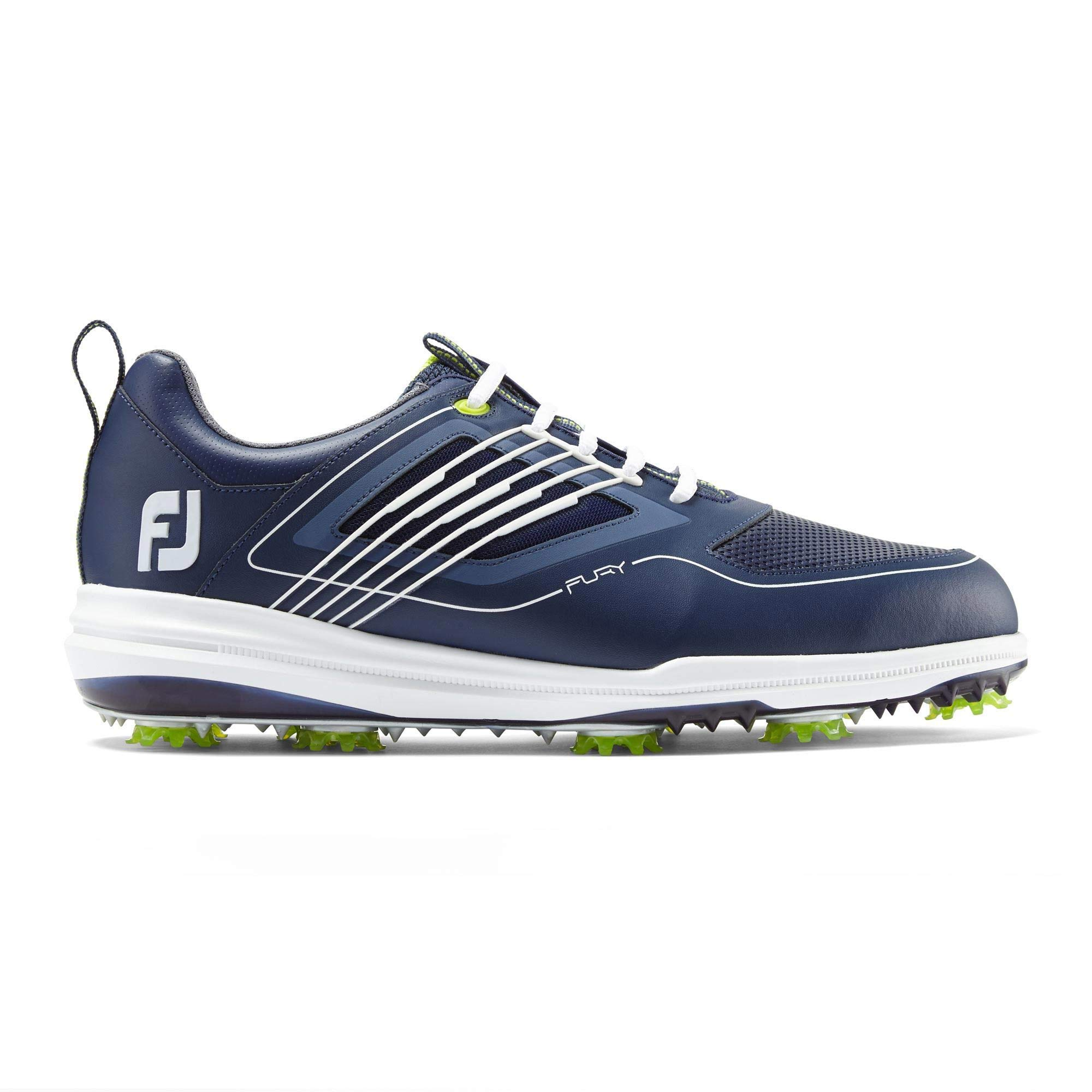 FootJoy Men's Fury Golf Shoes Blue 10.5 M, Navy/White, US by FootJoy