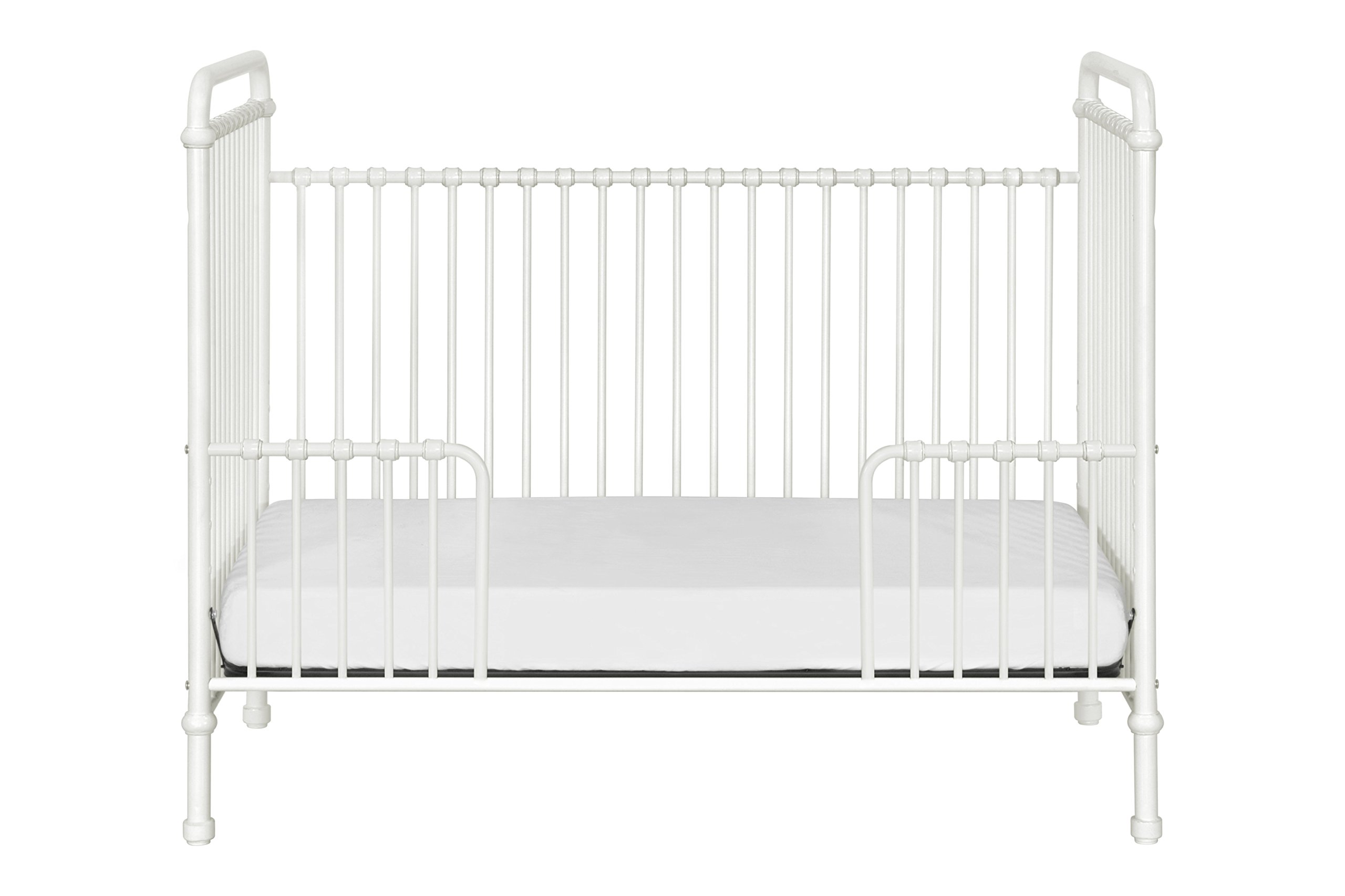 Million Dollar Baby Classic Abigail 3-in-1 Convertible Iron Crib,  Washed White by Million Dollar Baby Classic (Image #9)