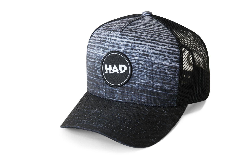 HAD Trucker Cap Gradient Melange Black HAD_HA910-0790