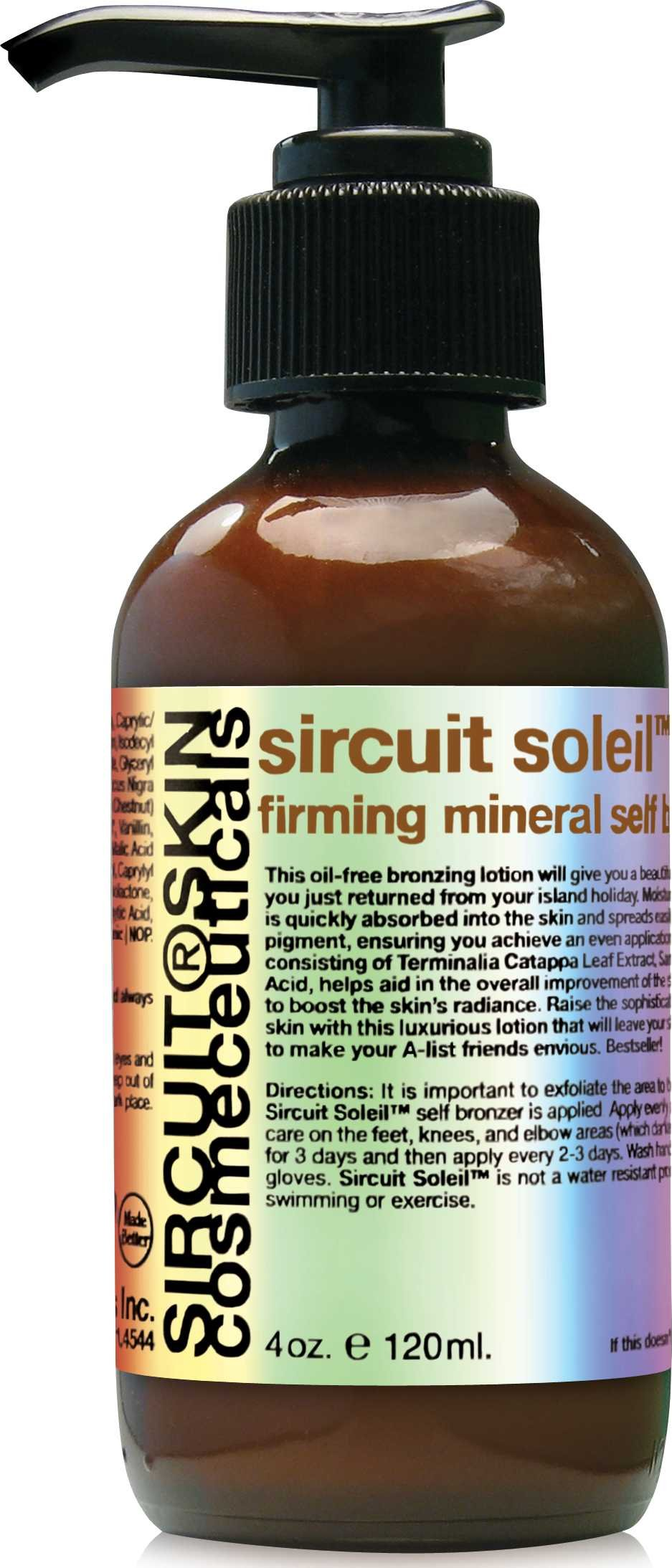 Sircuit Skin SIRCUIT Soleil+ Firming Mineral Self Bronzer (4 Ounces) by Sircuit