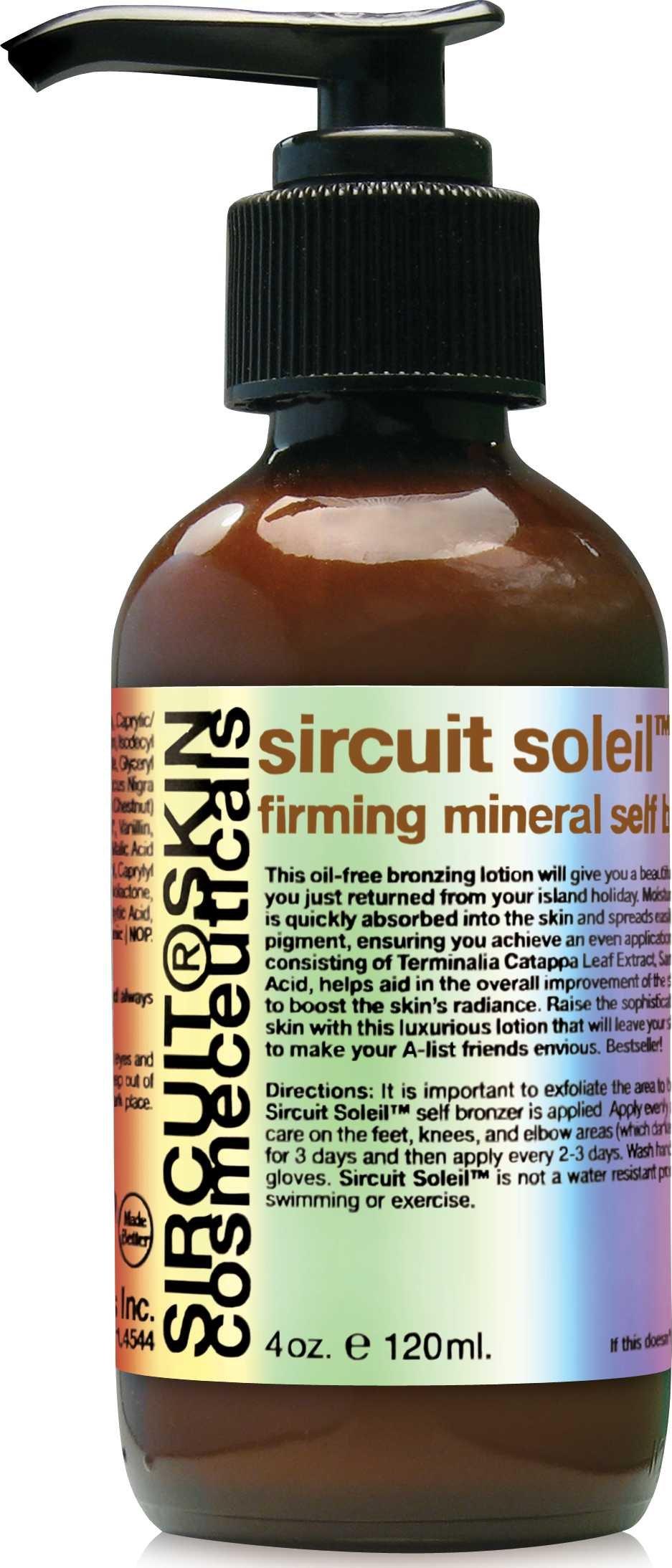Sircuit Skin SIRCUIT Soleil+ Firming Mineral Self Bronzer (4 Ounces)