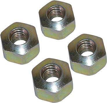Trailer Domed Brake Cable Nut Fastener For Alko Knott Braked Cables 4 Pack