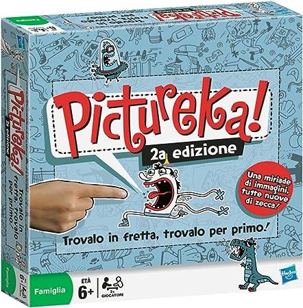 Hasbro Pictureka 2a edición - Juego de Mesa [Importado de Italia]: Amazon.es: Juguetes y juegos