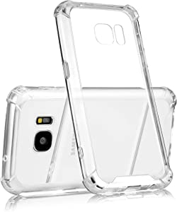 technext020 Galaxy S7 Clear Case, Galaxy S7 Case Silicone Protective Back Cover Slim Fit Samsung Galaxy S7 Bumper