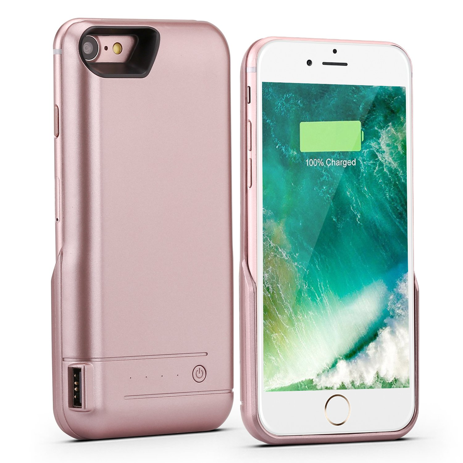powerful 5800mah portable charger power bank for iphone 7 battery slim case 606157513037 ebay. Black Bedroom Furniture Sets. Home Design Ideas