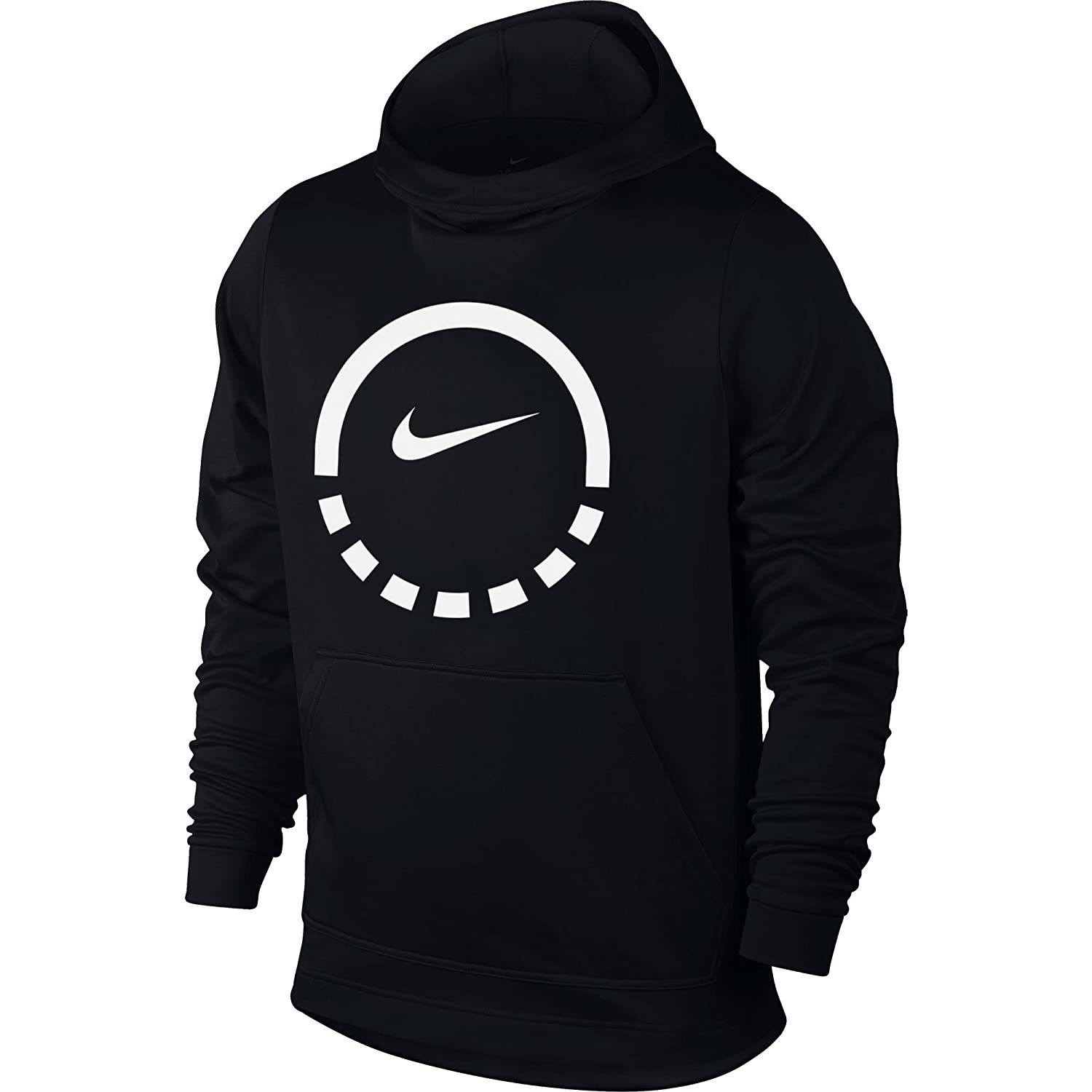 95096257f152 Amazon.com  Nike Men s Therma Basketball Hoodie Black Anthracite Size  XXX-Large  Clothing