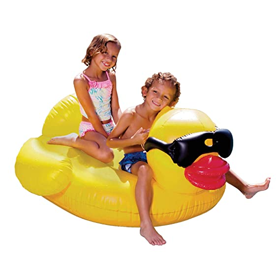 Amazon.com: Giant Derby - Flotador hinchable para piscina, L ...