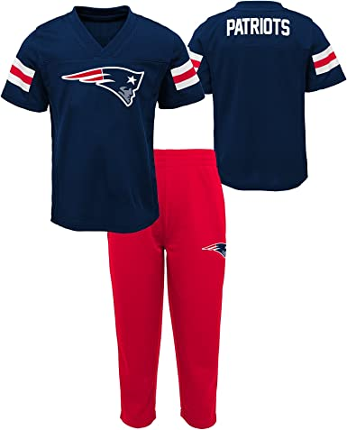 Outerstuff NFL Boys Kids Training Camp Short Sleeve Top /& Pant Set