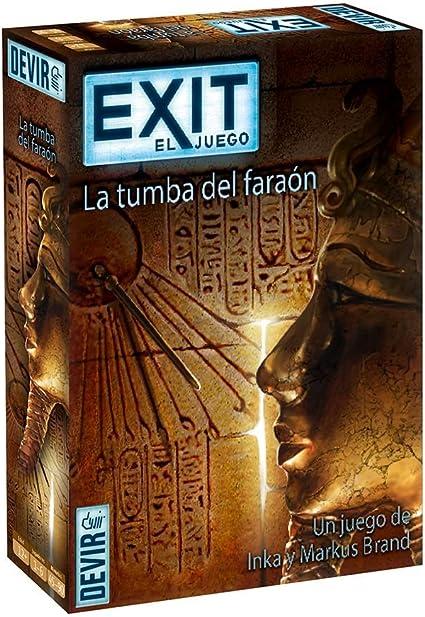 Devir - Exit: La tumba del faraón, Ed. Español (BGEXIT2): Amazon.es: Juguetes y juegos