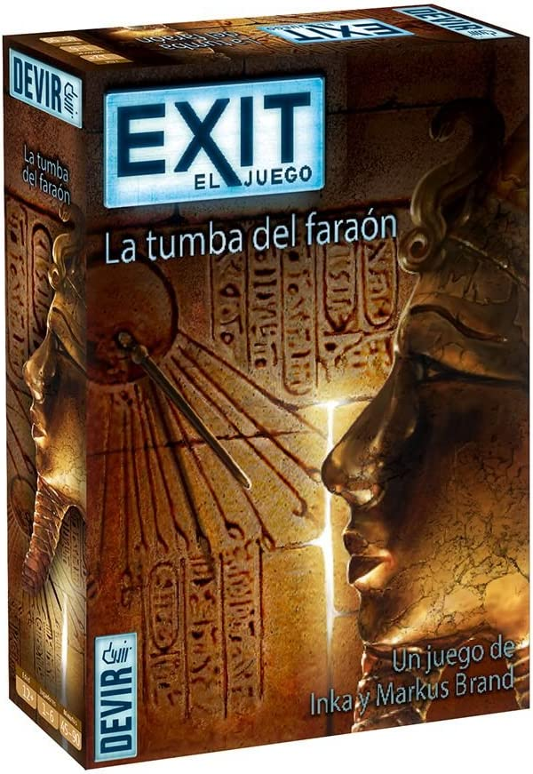 Devir - Exit: La tumba del faraón, Ed. Español (BGEXIT2): Amazon ...