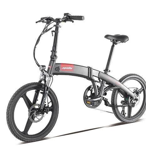 Smart S2 Bicicletta Elettrica Pieghevole 250 Watt Amazonit