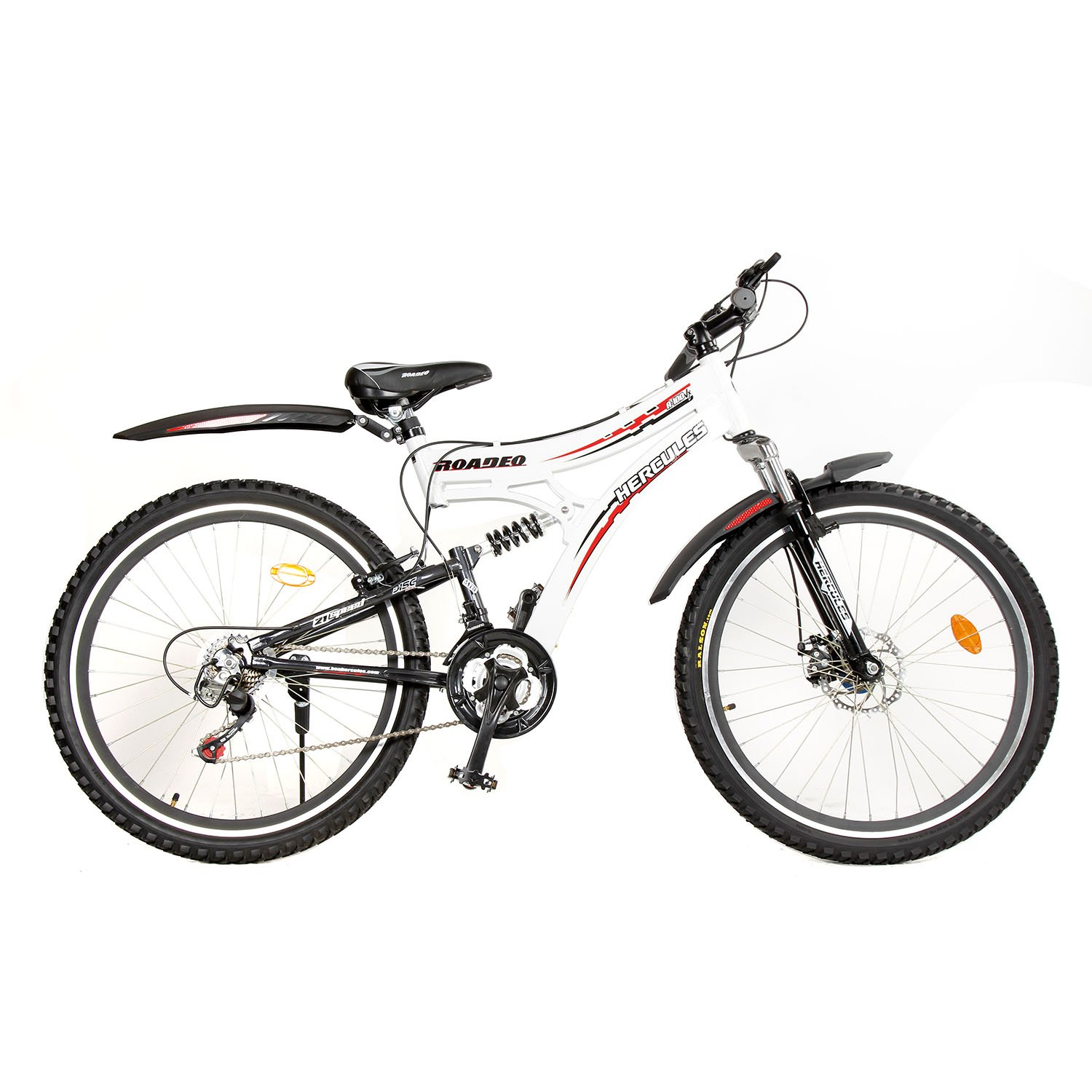 Hercules Roadeo A100 VX 26T 21 Speed Mountain Bike (White/Black) product image