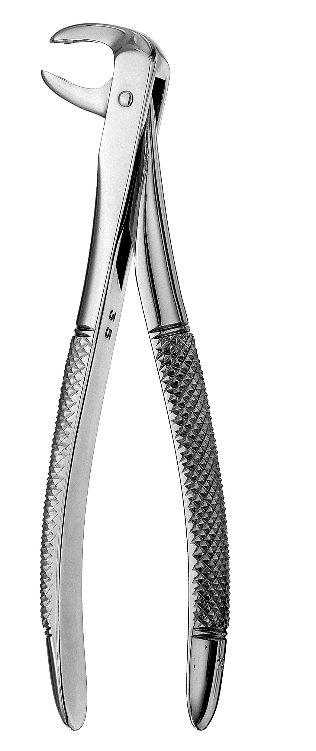 Hu-Friedy FX74 #74 European Style Root Forceps, Serrated, Lower Roots