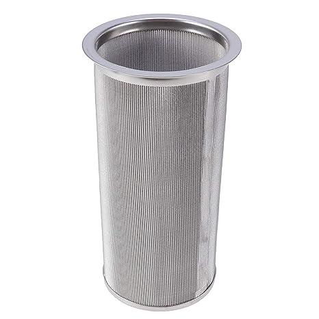 Filtro de té de acero inoxidable UPKOCH, filtro de café ...