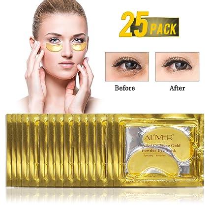 Máscara para Los Ojos, Máscara para Ojos De Colágeno, Máscaras Antiarrugas para Los Ojos, Anti-envejecimiento, Reduce Las Ojeras, Las Bolsas Bajo Los ...