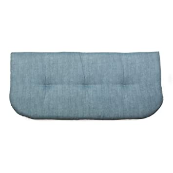 Amazon.com: Frosty Blue 42 x 19 - Cojín para banco de ...