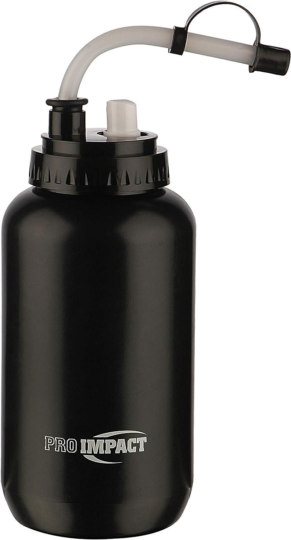Pro Impact Botella de Agua de Boxeo plástico apretable con Pajita Larga y Tapa de Spray – Ideal para Gimnasio, Yoga, Deportes, Boxeo, Ciclismo y al Aire Libre