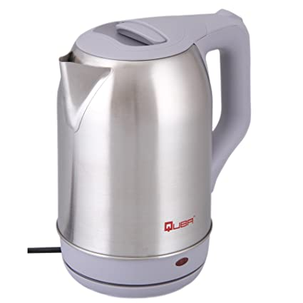 Quba Stainless Steel Body 3411 Cordless 1.8 L on/off Switch with Light Indicator Electric Kettle