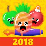 PEN Throwing XMAS Arcade - Pierce Pineapple, Apple And Christmas Tree Toy: Addicting Time Killer