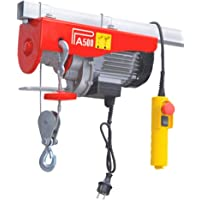 Mini Hoist Electric Hoist Capacity - 500Kg Used For Domestic Purpose & Small Jobs