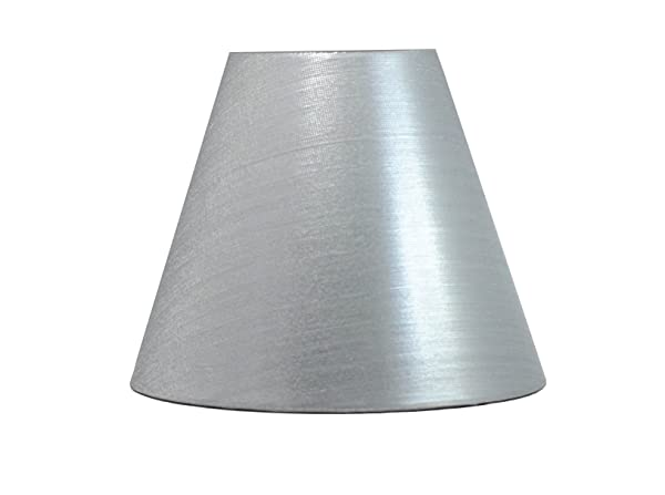 Urbanest chandelier lamp shades 6 inch woven metal fabric hardback urbanest chandelier lamp shades 6 inch woven metal fabric hardback clip on aloadofball Images