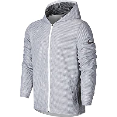 fd5728f9c01a Amazon.com  NIKE Men s Hyper Elite All Day Full Zip Basketball ...
