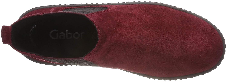 Gabor Gabor Gabor Damen Jollys Stiefeletten Rot (Camino (Natur) 15) af5436