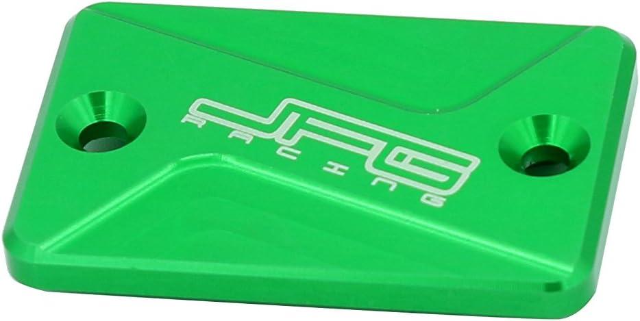 Front Brake Fluid Reservoir Cover Cap For Kawasaki D-Tracker ATV KFX450R KFX700