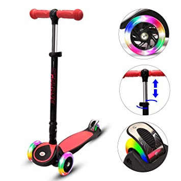 Amazon.com: ChromeWheels patinete para niños, Glidekick ...