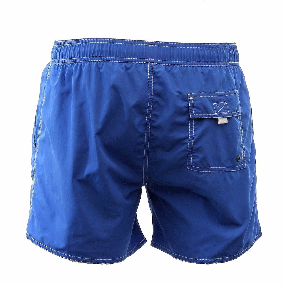 244af59109045 Amazon.com: Hugo Boss BOSS Men's Lobster 5 Inch Solid Swim Trunk, Blue,  XX-Large: Clothing